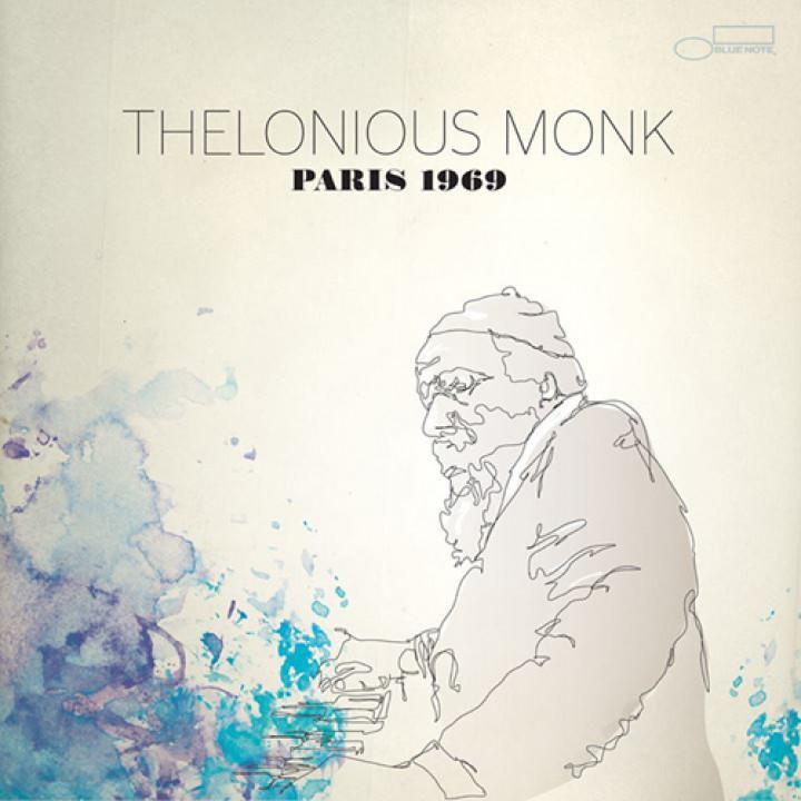 "Thelonious Monk - ""Paris 1969"" Cover"