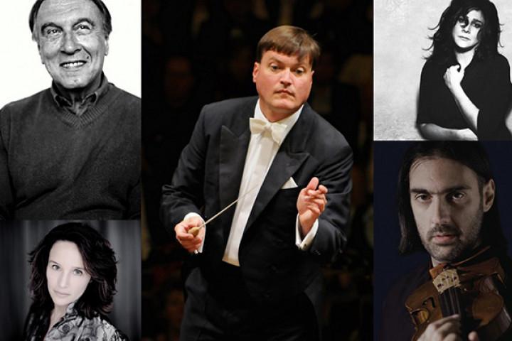 Die nominierten für die 56. Grammy-Verleihung: Claudio Abbado, Hélène Grimaud, Christian Thielemann, cecilia Bartoli, Leonidas Kavakos