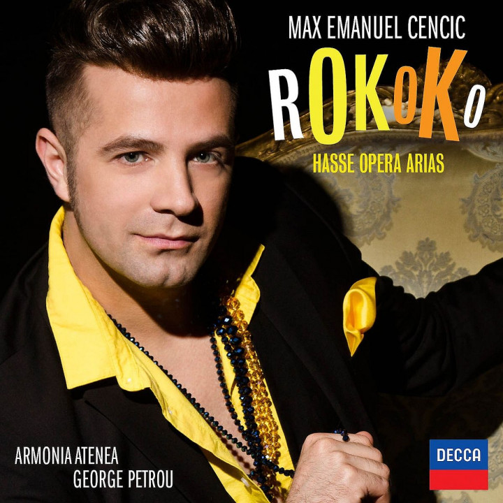 Rokoko: Hasse Opera Arias: Cencic/Kitsos/Atenea/Petrou