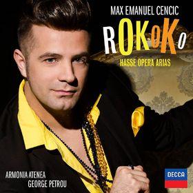 Max Emanuel Cencic, Rokoko - Hasse Opera Arias, 00028947864189