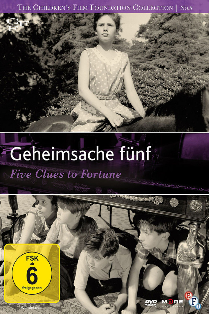Geheimsache fünf (Five Clues to Fortune, GB 1957)