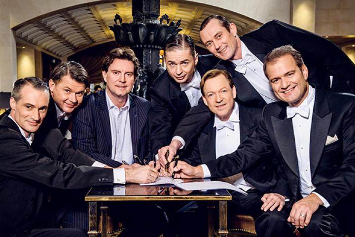 Philipp Seibert, Horst Maria Merz, Mark Wilkinson (President Deutsche Grammophon), Olaf Drauschke, Holger Off, Ralf Steinhagen, Wolfgang Höltzel