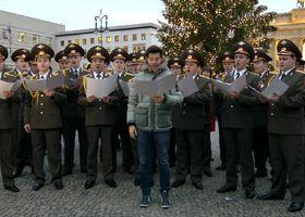 The Red Army Choir & Vincent Niclo, Stille Nacht, Heilige Nacht - Live am Brandeburger Tor