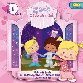 Zoés Zauberschrank, 1: Eule/ Regenbogenrätsel/ Schatz Ahoi/ Farbe Rosa, 00602537445486