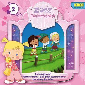 Zoés Zauberschrank, 2: Dschungelsafari/ Schneeflocken/ Autorennen/ Echo, 00602537445493