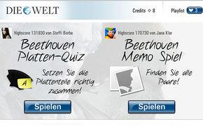 Ludwig van Beethoven, Klassische Musik - Spielen und Hören in Facebook