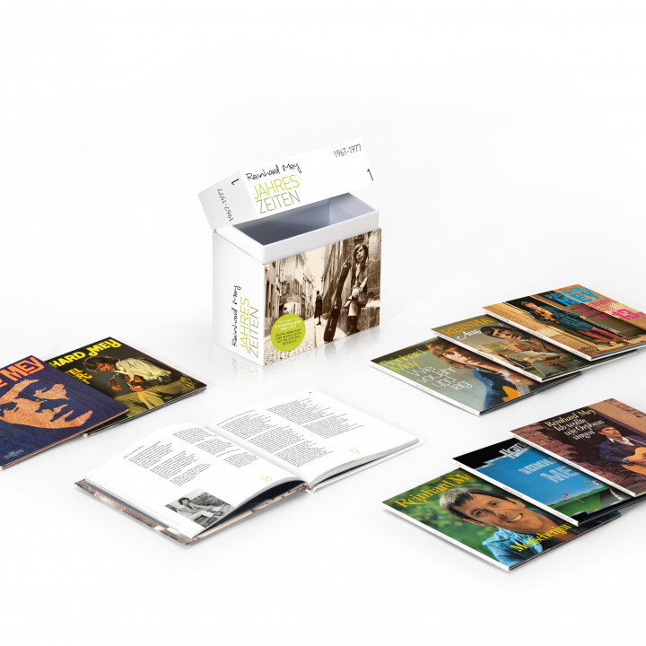 Reinhard Mey—Packshot Box 1 1967–1977