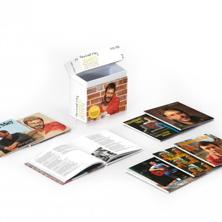Reinhard Mey – Packshot Box 2 1978−1988