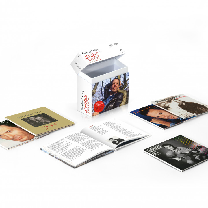 Reinhard Mey—Packshot Box 3 1989–1999