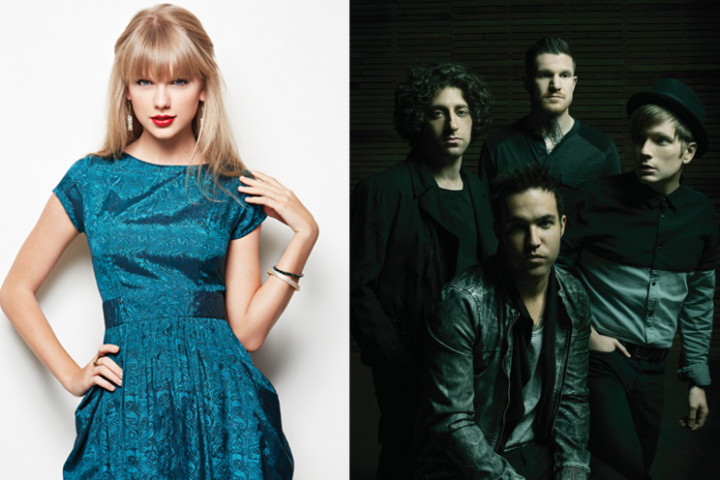 taylor swift fall out boy