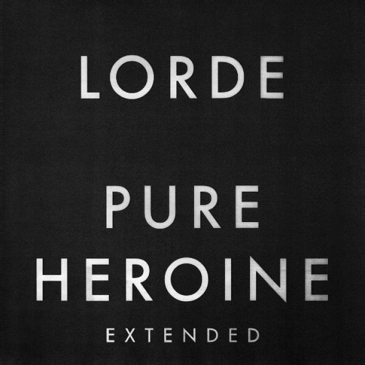 Lorde Pure Heroine Extended Cover
