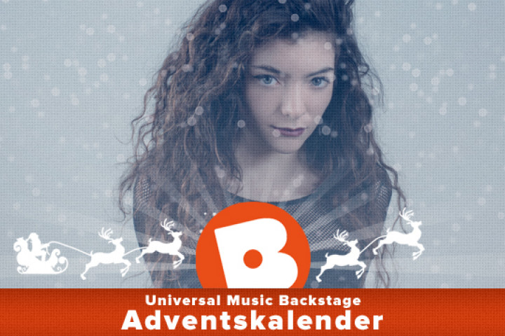 Lorde Adventskalender backstage