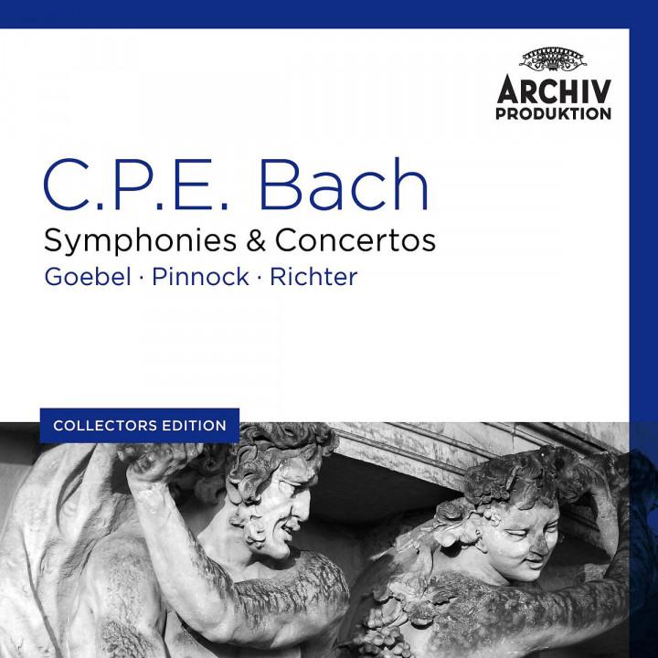 Sinfonien & Konzerte : Goebel/Pinnock/Richter