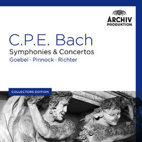 Collectors Edition, C.P.E. Bach: Symphonies & Concertos, 00028947924999
