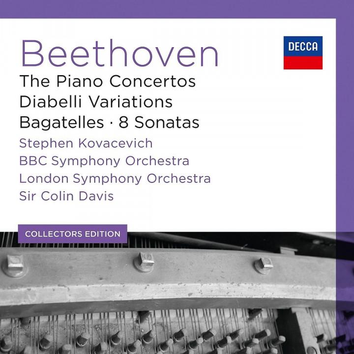 Klavierkonzerte/Diabelli Variationen/8 Sonaten: Kovacevich,Stephen/LSO/Davis,Sir Colin