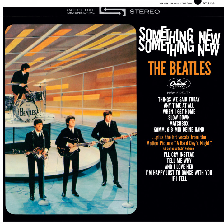 The Beatles — U.S. Albums — Something New