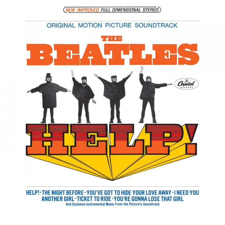 The Beatles — U.S. Albums — Help!