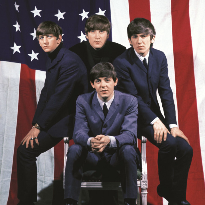 The Beatles — U.S. Albums Boxfront Cover