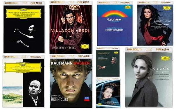 Vincenzo Bellini, Das ultimative Hörerlebnis - 9 Klassikalben als High Fidelity Pure Audio