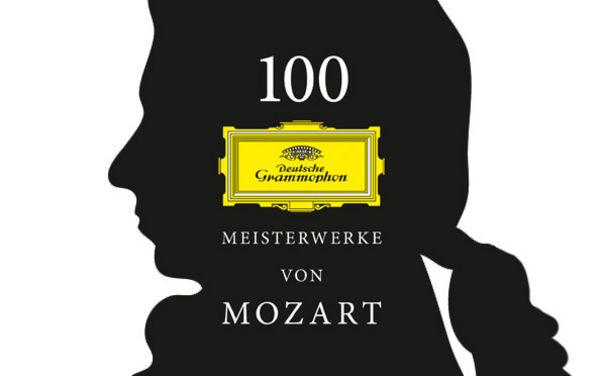 Wolfgang Amadeus Mozart, Deutsche Grammophon lässt Mozart hochleben
