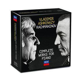 Vladimir Ashkenazy, Rachmaninoff - Sämtliche Werke für Klavier, 00028947863489