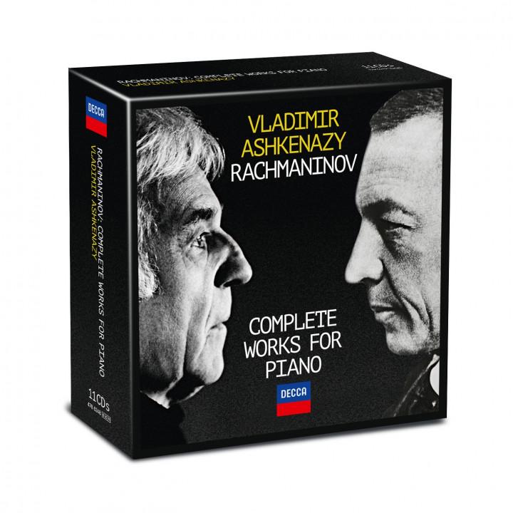 Packshot Ashkenazy Rachmaninov