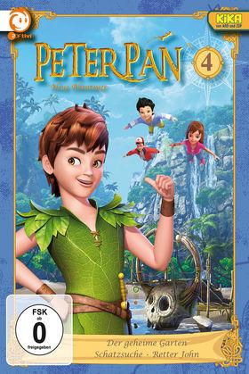 Peter Pan, 04: Der geheime Garten / Schatzsuche / Retter John, 00602537390908