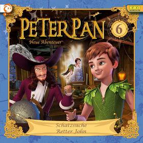 Peter Pan, 06: Schatzsuche / Retter John, 00602537390731