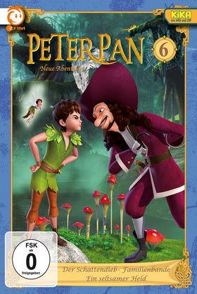 Peter Pan, 06: Der Schattendieb / Familienbande / Ein seltsamer Held, 00602537390922