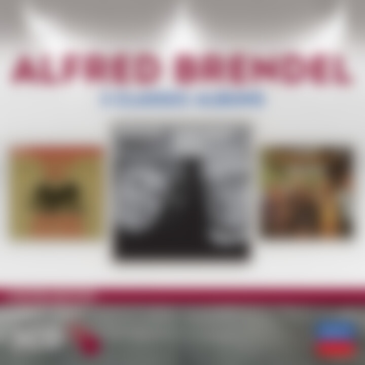 Alfred Brendel - 3 Classic Albums (Ltd. Edt.): Brendel/Rattle/Abbado/WP/LSO/+