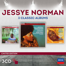 Jessye Norman, Jessye Norman - Three Classic Albums, 00028947867173