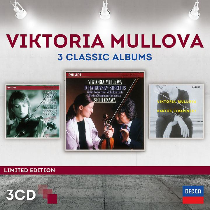 Viktoria Mullova - 3 Classic Album (Ltd. Edt.): Mullova/Ozawa/Abbado/Salonnen/BSO/BP/LAPO