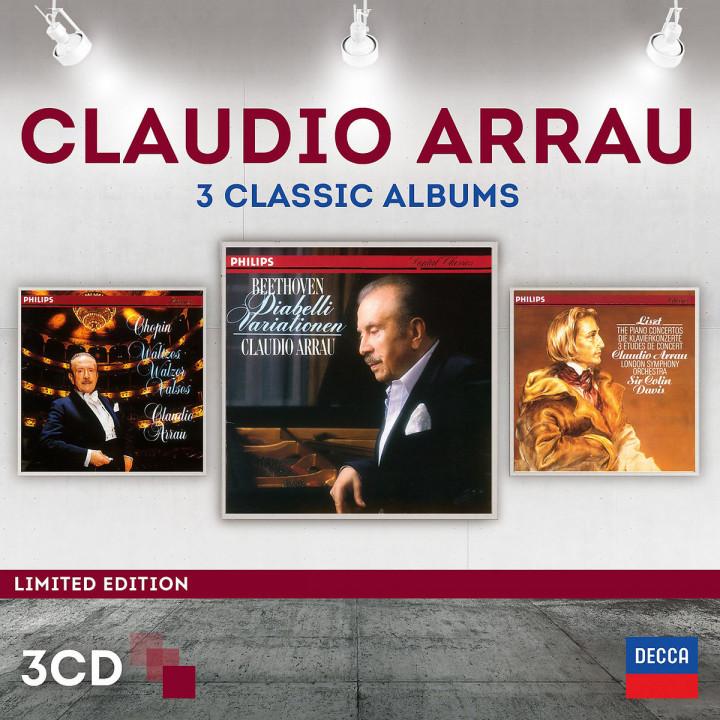 Claudio Arrau - 3 Classic Albums (Ltd. Edt.): Arrau,Claudio/Davis,Sir Colin/LSO