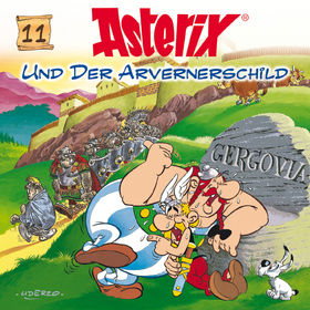Asterix, 11: Asterix und der Arvernerschild, 00602498768495