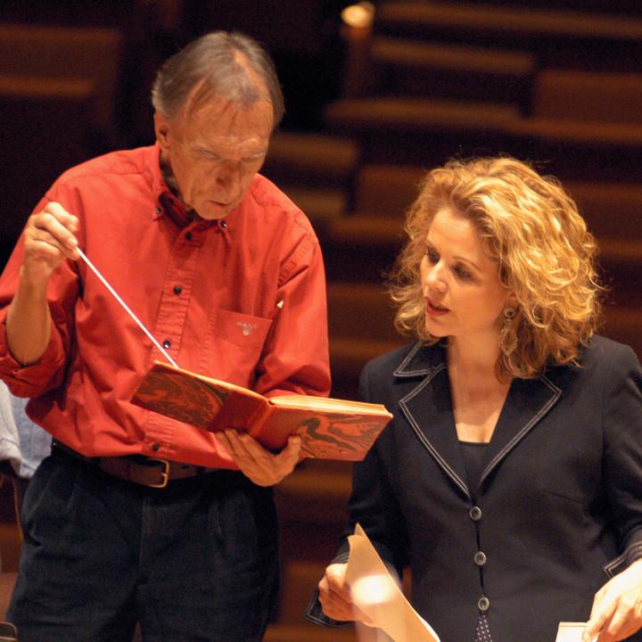 Claudio Abbado und Renée Fleming (2005)