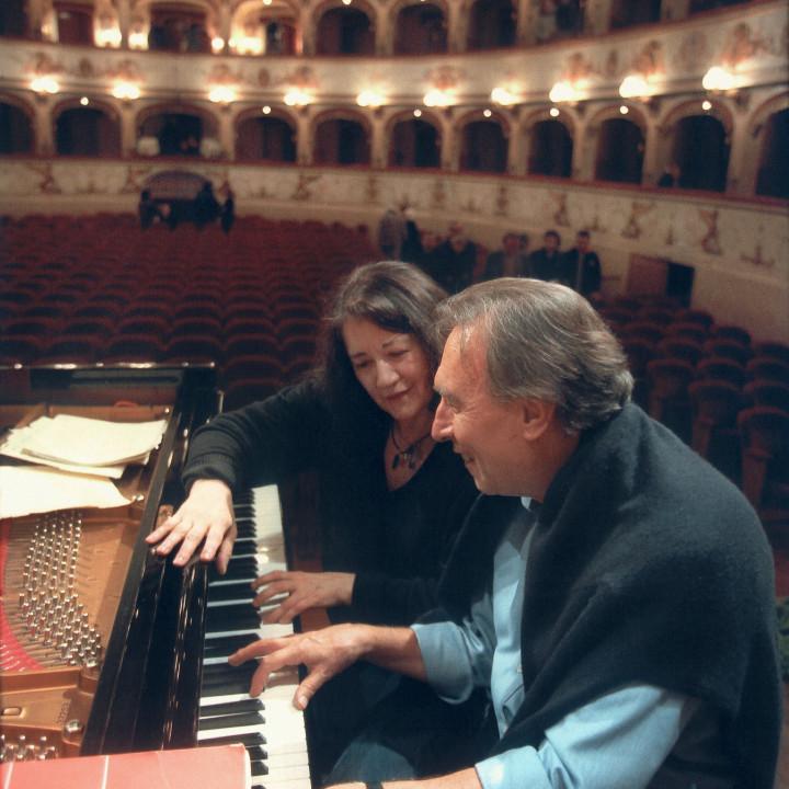 Martha Argerich, Claudio Abbado (2004)