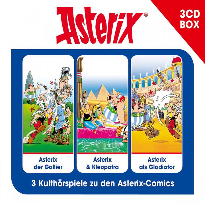 Asterix 3CD Hörspielbox