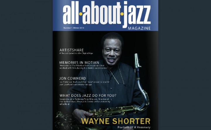 Cover der ersten Ausgabe des all about jazz magazines