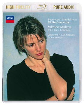 John Eliot Gardiner, Gardiner: Beethoven/Mendelssohn - Violin Konzerte (Pure Audio), 00028947850120