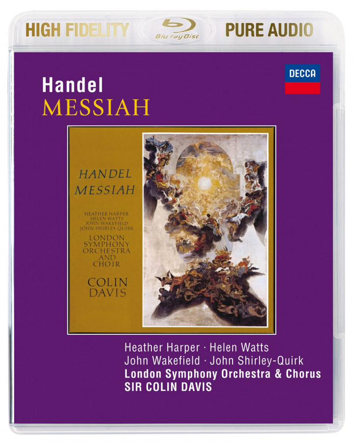 Davis: Händel - Messias (Pure Audio)