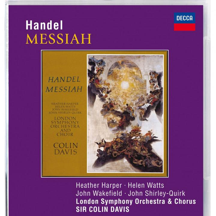 Davis: Händel - Messias (Pure Audio)
