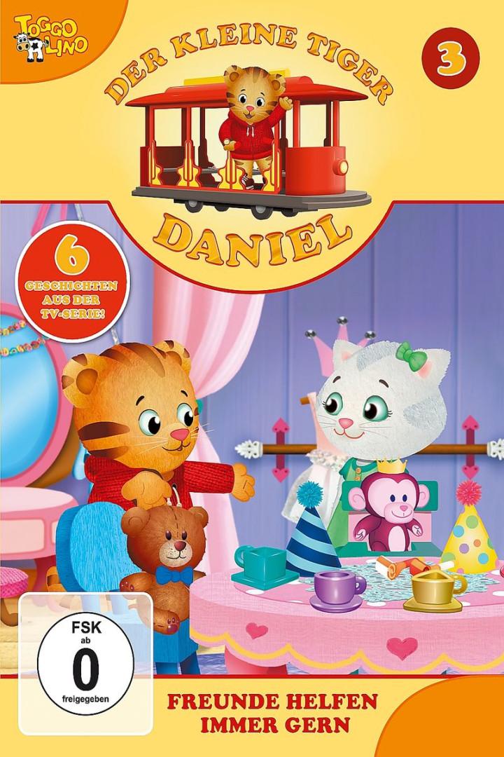 03: Freunde helfen immer gern: Der kleine Tiger Daniel