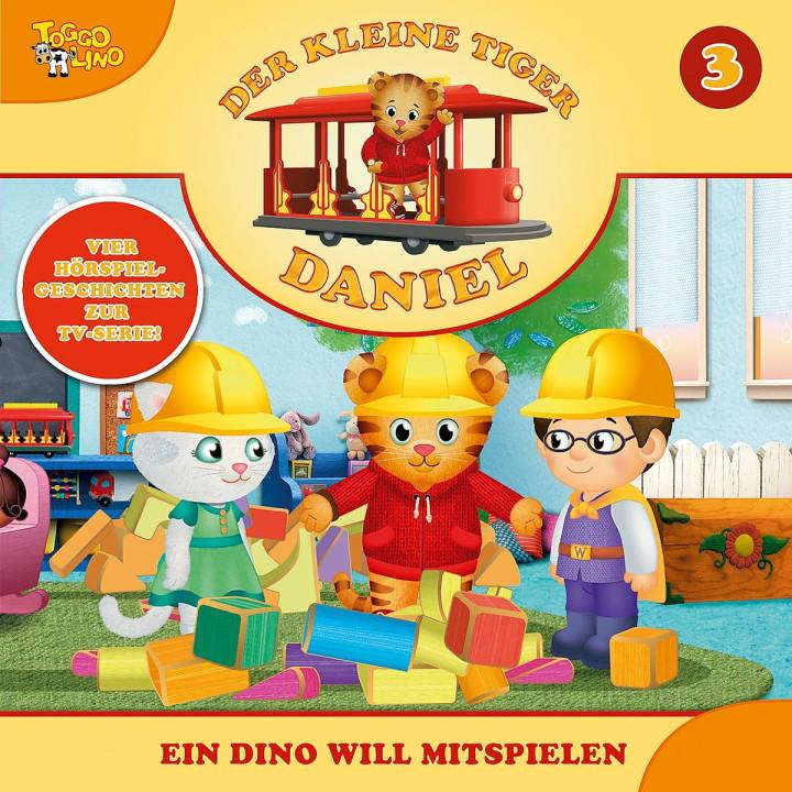 03: Ein Dino will mitspielen: Der kleine Tiger Daniel