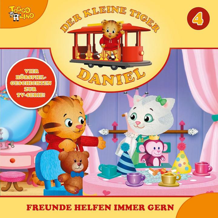04: Freunde helfen immer gern: Der kleine Tiger Daniel
