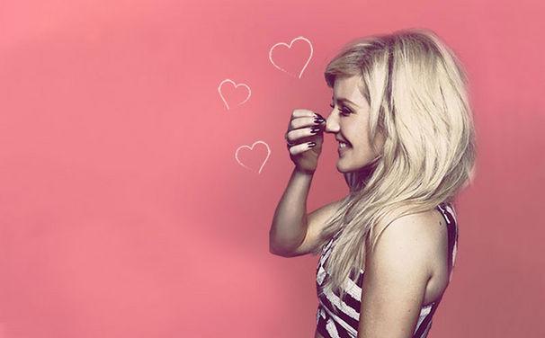Ellie Goulding, How Long Will I Love You: Verschickt eure Valentinstags-Grüße mit Ellie Gouldings App bei Facebook