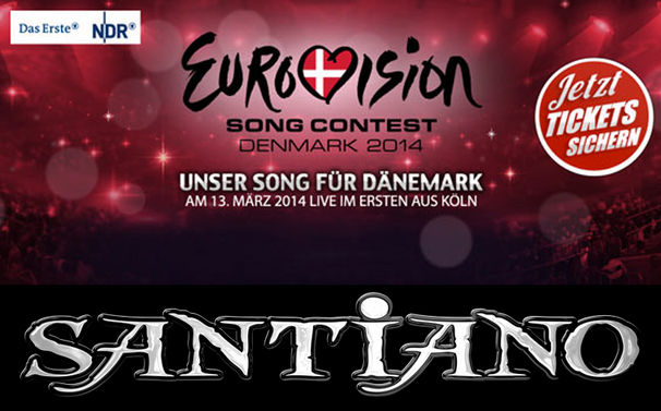 Santiano, Unterstützt Santiano live vor Ort bei Unser Song für Dänemark