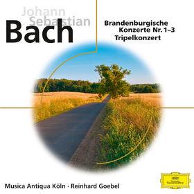eloquence, Bach - Brandenburgische Konzerte Nr.1-3, 00028947926931