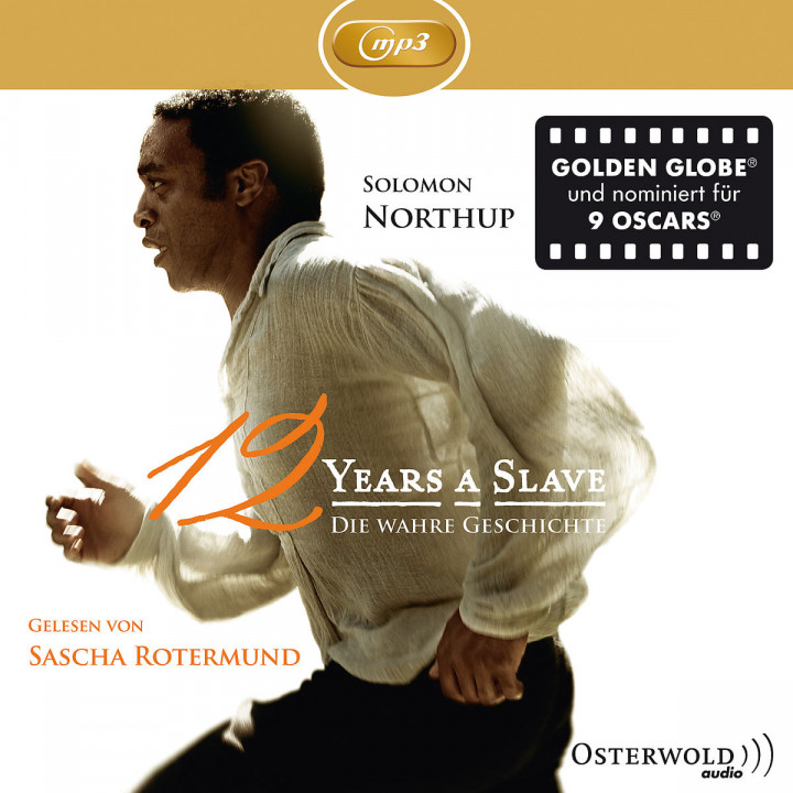 Solomon Northup: Twelve Years A Slave (mp3): Rotermund,Sascha