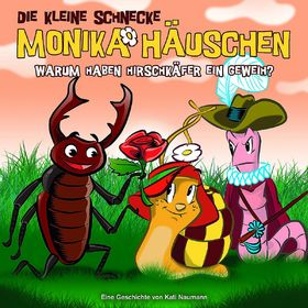 Die kleine Schnecke Monika Häuschen, 35: Warum haben Hirschkäfer ein Geweih?, 00602537545636