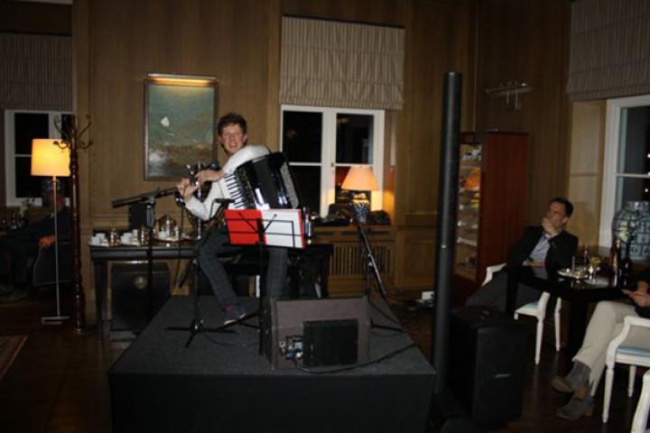 Martynas im Grand Hotel Heiligendamm (2014)